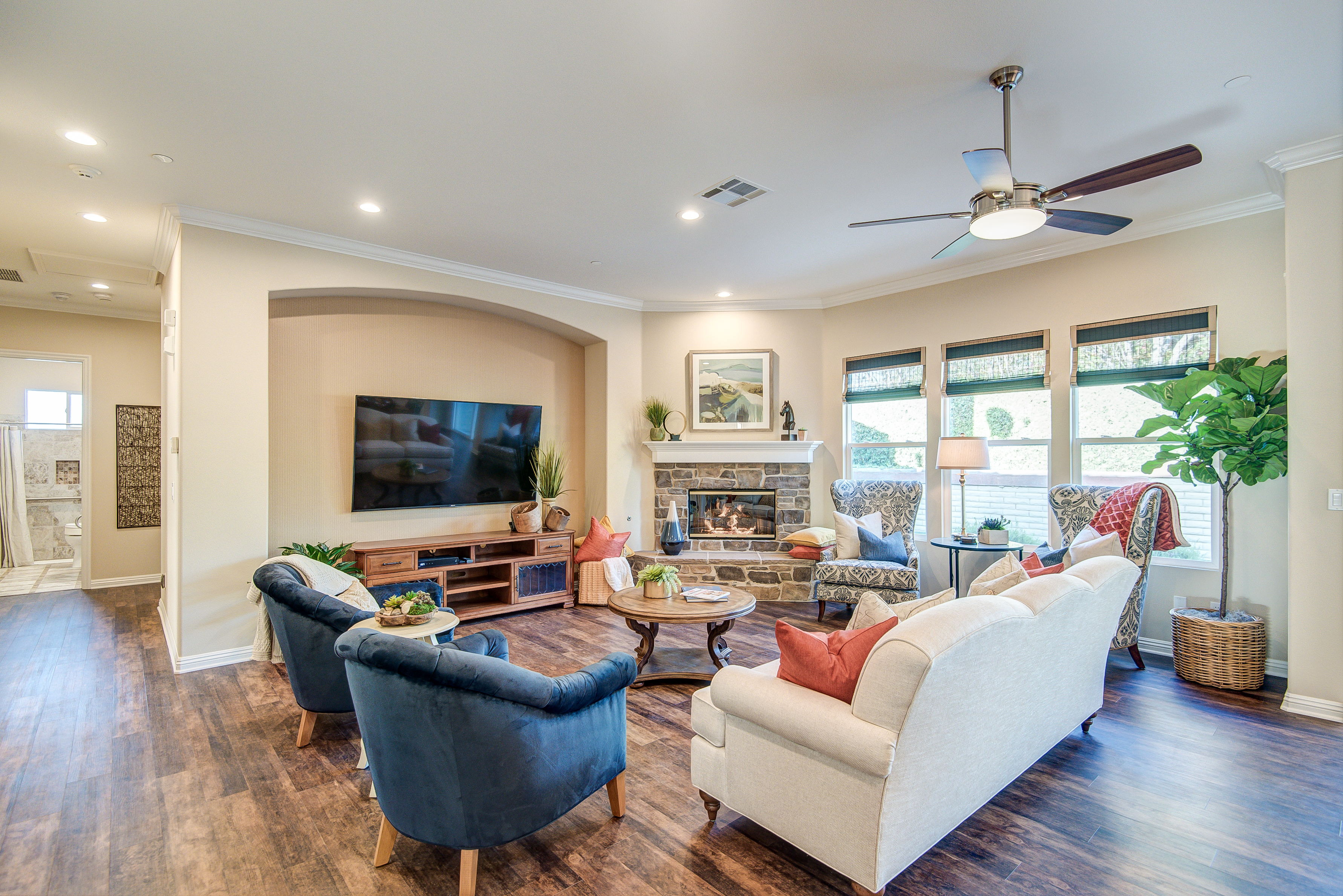 Family Room 1 - Adagio San Juan Assisted Living